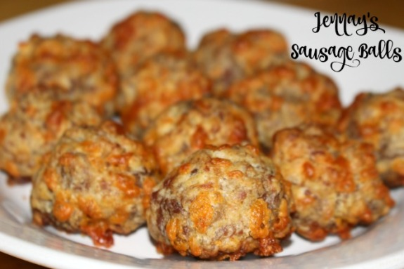 jennay's sausage balls