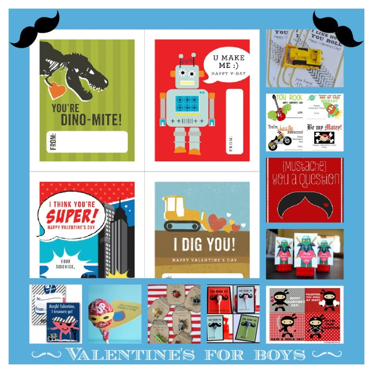 PicMonkey Collage-valentine's for boys