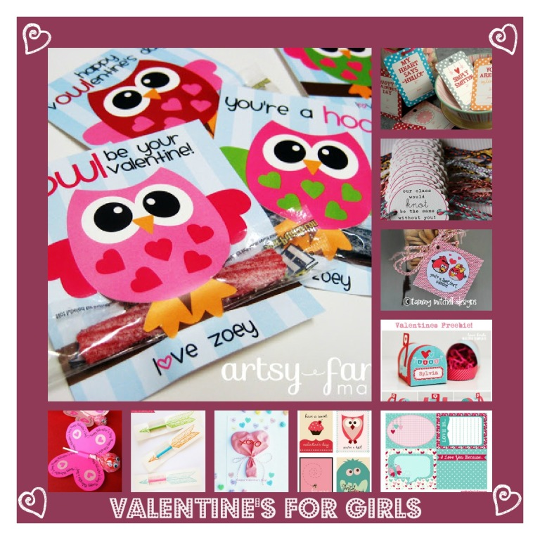 PicMonkey Collage-valentine's for girls