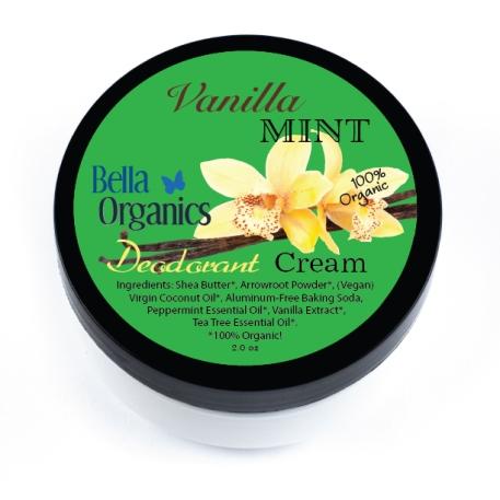 bella organics deodorant creme