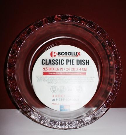 Borolux Pie Plate 00